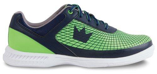 Brunswick FRENZY uomo bowling shoe navy/verde Navy/Green