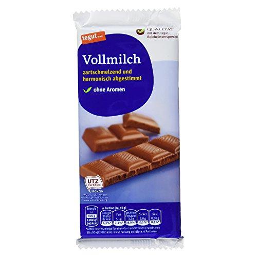 Tegut Schokolade Vollmilch, 100 g