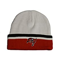 Tampa Bay Buccaneers Red Cuff Sideline Beanie Hat - NFL Cuffed Knit Toque  Cap b5e5bf259603