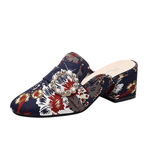 TUDUZ Sneaker Socken Herren Damen Outdoor Sandalen Flache farblich passende Strandschuhe Wandern Wandern Sandalen Geschlossene Ballerinas(Blau,39EU)