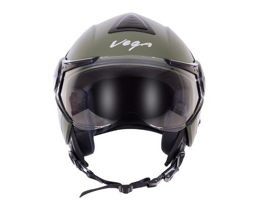 Vega Verve Open Face Helmet (Women's, Dull Army Green, S)