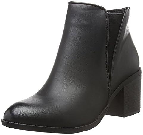 Another Pair of Shoes Damen AnnieE1 Kurzschaft Stiefel, Schwarz (BLACK01), 39 EU