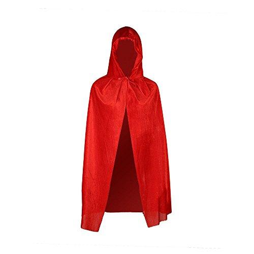 Childrens Velvet Cape Little Red Riding Hood Girls Fancy Dress Book Week Costume Velvet Red Riding Hood