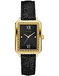 Guess Reloj Análogo clásico para Mujer de Cuarzo con Correa en Cuero W0841L1