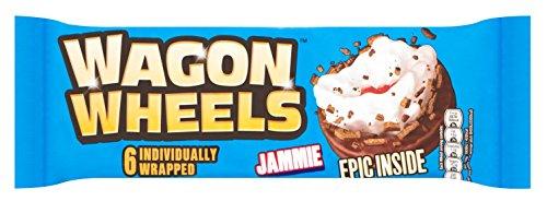 Wagon Wheels 6 Jammie Biscuits