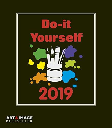 Do-it-yourself 2019 - Kalender zum Selbstgestalten, Bastelkalender, Malkalender  -  21 x 24 cm