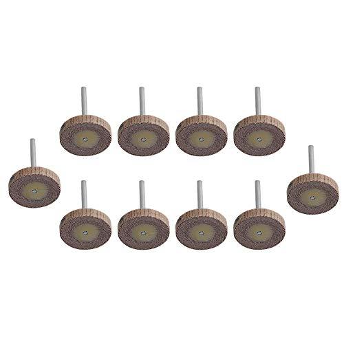 Yibuy Schleifscheiben-Set, Körnung, 25 mm Durchmesser, 240 Stück