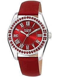 Amazon.es  numeros romanos - Rojo  Relojes 09f313689c58