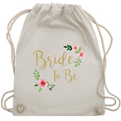 JGA Junggesellinnenabschied - Bride To Be - Unisize - Naturweiß - WM110 - Turnbeutel & Gym Bag
