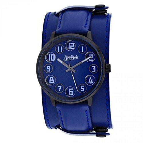 Jean Paul Gaultier Decroche Homme 42mm Bracelet Cuir Quartz Montre 8504704