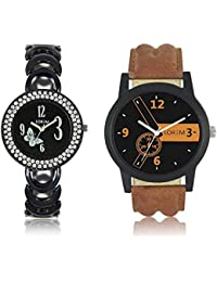 Style Keepers LR-01-201 Analogue Watch For Boy (Pack Of 2 Watch)