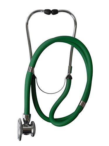Profesional Rappaport-Estetoscopio verde doble manguera 1pieza original de Tiga Med Calidad estetoscopio...