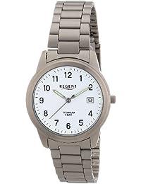 Regent Herren-Armbanduhr XL Analog Titan 11090212