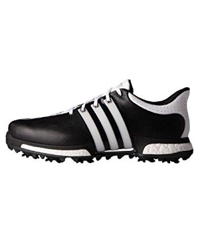 Adidas Tour360Boost Golf Schuhe, Herren, Herren, Tour360 Boost, schwarz / weiß, 43.3 Preisvergleich