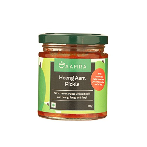 Aamra Homemade Heeng Aam Pickle 190gm (Hing Mango Pickle)