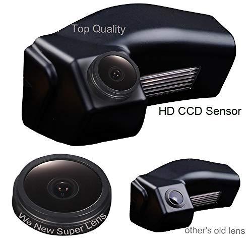 Navinio Rückfahrkamera wasserdicht Nachtsicht Auto Rückansicht Kamera Einparkhilfe Rückfahrsystem, Kennzeichenleuchte für Mazda 2 Mazda 3