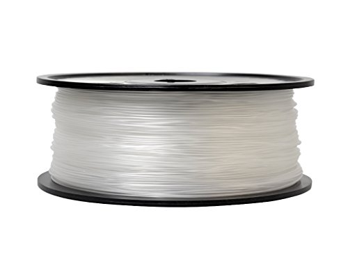 Firstcom Filament PLA (rouleau d'1 kg) pour imprimante 3D MakerBot RepRap Ultimaker, etc. 3.00mm transparent