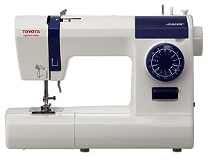 Toyota ECO 15CJ - Máquina de coser, diseño ergonómico, color blanco de Toyota