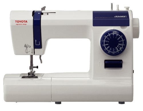 Toyota ECO 15CJ - Máquina de coser, 65 W, 15 programas, color blanco