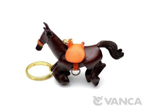 Leder Pferd/Equine Waren KH Schlüsselanhänger Vanca Windhund Schlüsselanhänger Made in Japan ()