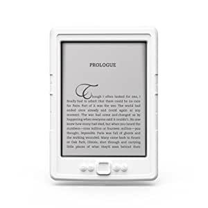 Marware SportGrip Silicone Kindle Cover (5th Generation - 2012 release), White