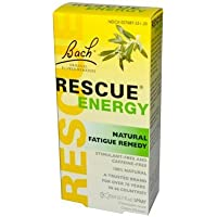 Pack of 1 x Bach Flower Remedies Rescue Energy - 0.7 fl oz