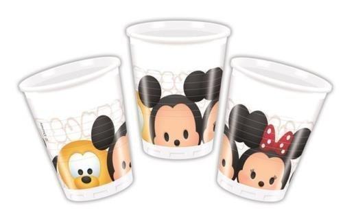 Procos Disney Tsum Tsum Plastique Goblets Fête (paquet De 8)