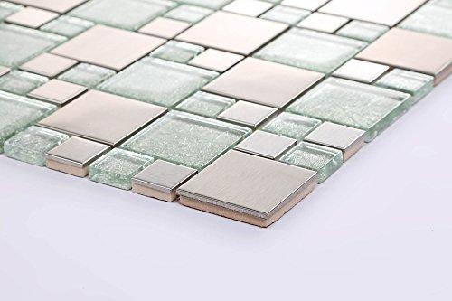 muster-10-x-10-cm-verre-et-carrelage-type-mosaque-en-acier-inoxydable-avec-pierres-argent-en-deux-ta