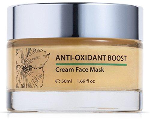 Anti-Oxidant Boost - Vitamins A C & E + Green Tea Cream Facial Mask