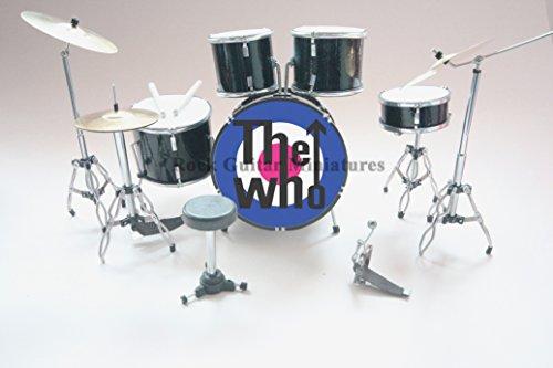 RGM383 Keith Moon The Who Miniaturschlagzeug