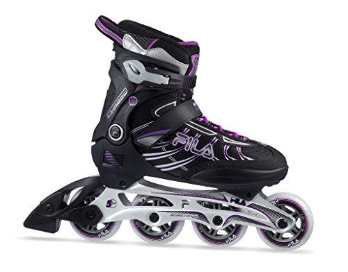 Fila Shadow 80Lady Inline Skate, unisex, Shadow 80 Lady, schwarz/Magenta, 4,5