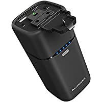 RAVPower 65W 20100mAh Powerbank AC im Flugzeug Tragbar Ladegerät mit USB C Anschluss und USB iSmart Port Powerstation Reiseladegerät für MacBook, Laptops, Smartphone, Tablet und Weitere