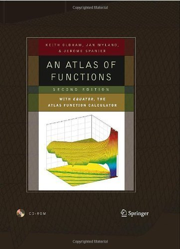 An Atlas of Functions: with Equator, the Atlas Function Calculator 2nd by Oldham, Keith B., Myland, Jan, Spanier, Jerome (2008) Hardcover