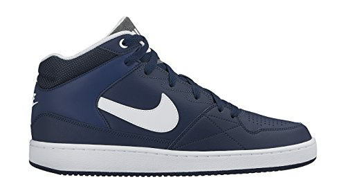 Nike Priority Mid Scarpe da basketball Azul / Blanco (Midnight Navy / White)