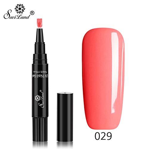 in 1 Gel Nagellackstift Flash Bright Gloss One Step Nagelgel UV Nagellack 16 Farbe Watopi ()