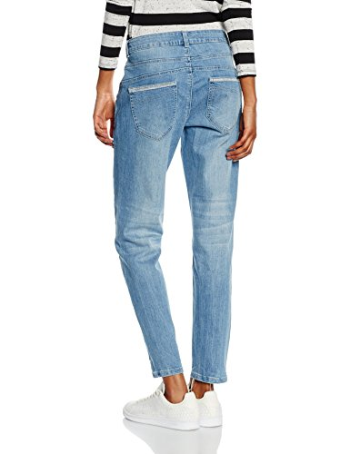 Comma CI Damen Jeanshose Blau (blue denim stretch 52Z7)