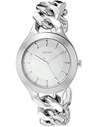 (CERTIFIED REFURBISHED) DKNY Analog White Dial Women's Watch - NY2216#CR