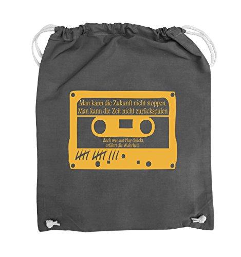 Buste Comiche - Ragazze Morte Non Mentono - Cassetta - Borsa Girevole - 37x46cm - Colore: Nero / Bianco Grigio Scuro / Giallo