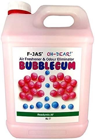 F-JAS Air Freshener & Odour Eliminator (5L Readymix, Double Fragrance,