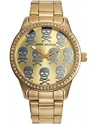 Mark Maddox MM0002-97 - Reloj de cuarzo para mujer, correa de otros materiales color dorado