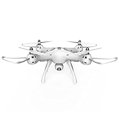 wlgreatsp X8PRO Large-Scale Four-Axis Aircraft GPS Real-Time Aerial Drone Aircraft Remote Control Aircraft Model from wlgreatsp