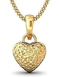 BlueStone 22k (916) Yellow Gold Sweet Love Pendant