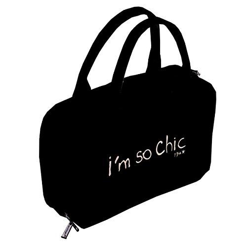 Trousse multifonctions noir - I'm so chic