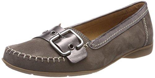 Gabor Shoes Damen Comfort Sport Geschlossene Ballerinas, Braun (Fumo/Argento), 40 EU