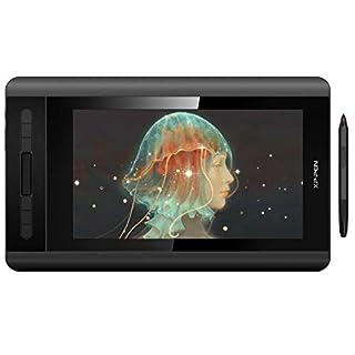 XP-PEN Artist 12 Grafikmonitor Drawing Pen Tablet Pen Display 1920 X 1080 HD IPS mit Touch Bar Zeichnen Stift P06 mit dem Radiergummi (Artist 12)