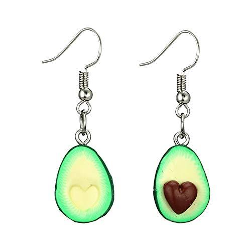 Da.Wa 1 Paar Ohrhänger Ornaments Jewellery Accessories Obst Piercing Ohrringe für Damen und Mädchen A
