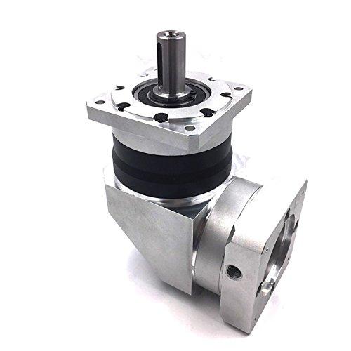 Gowe 60mm Servo Reducer Speed 4000RPM Verhältnis 50: 1Drehmoment 31,5Nm Planetary Getriebe Reducer Eingang Bohrung 14mm für nema24Servo Motor -