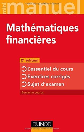 Mini-manuel - Mathématiques financière...