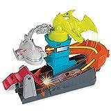 Hot Wheels Pista Pterodattilo Attacco all'Aeroporto, Playset per Macchinine con Veicolo Incluso, Gioco per Bambini di 4 + Anni, GBF94