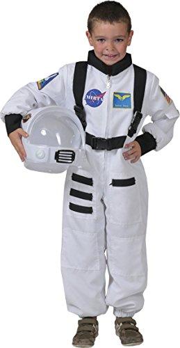 Generique - Weißes Astronaut Kostüm für Kinder 98/104 (3-4 Jahre)